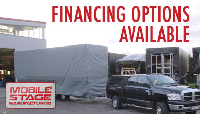 Mobile Stage Manufacturing Financing